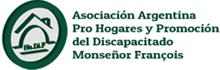 Logo Asociación Argentina Pro Hogares y Promoción del Discapacitado Monseñor François