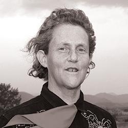Fotografía de Temple Grandin